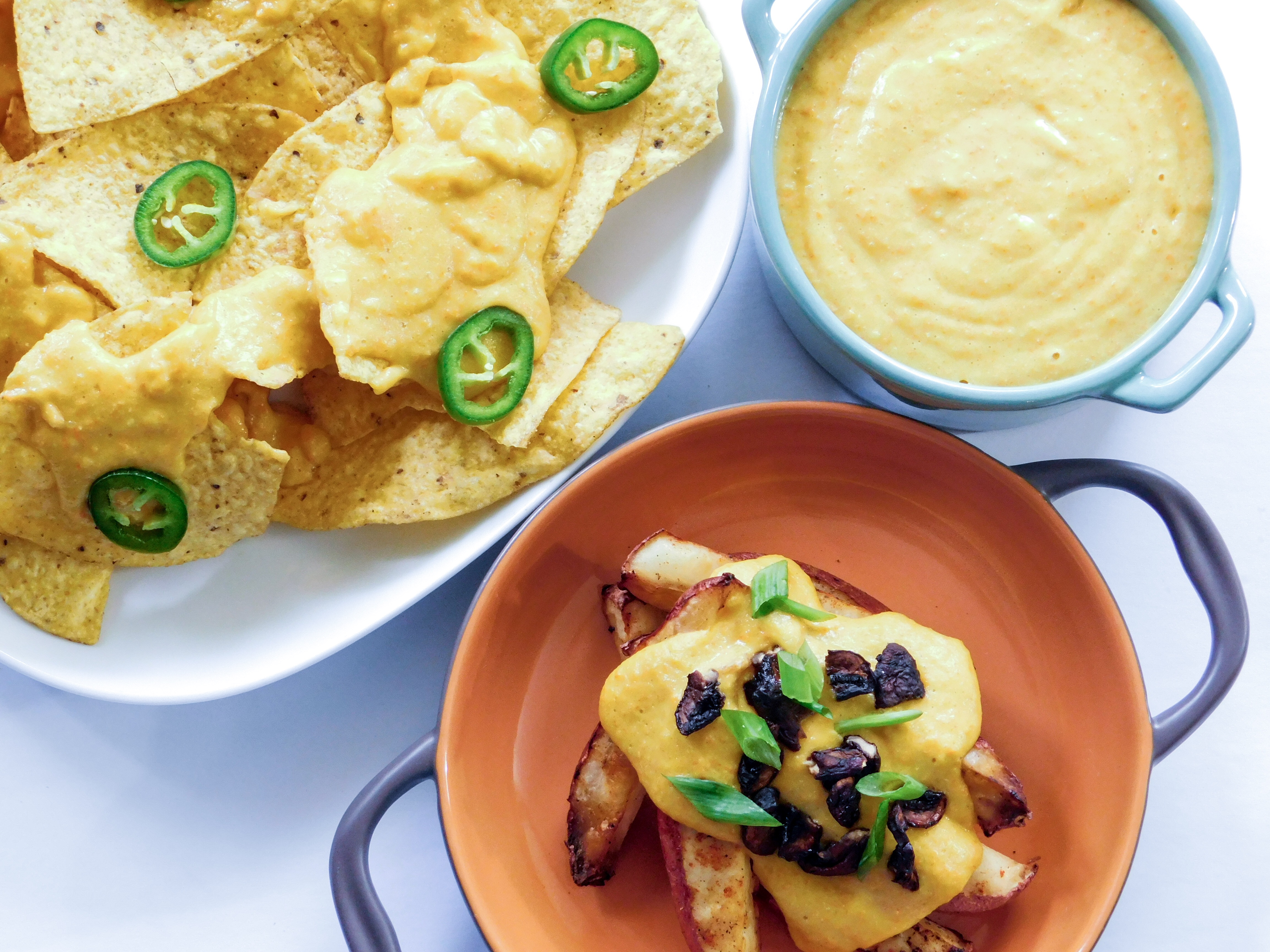Nacho Cheese, Fries, and Chips