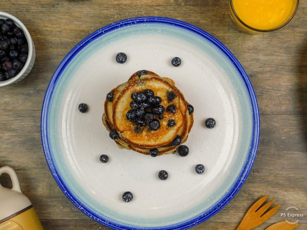 Scrumptious Blueberry Pancakes