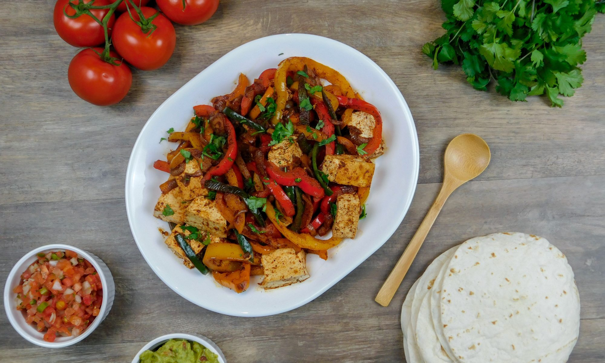 The Best Vegan Fajita's