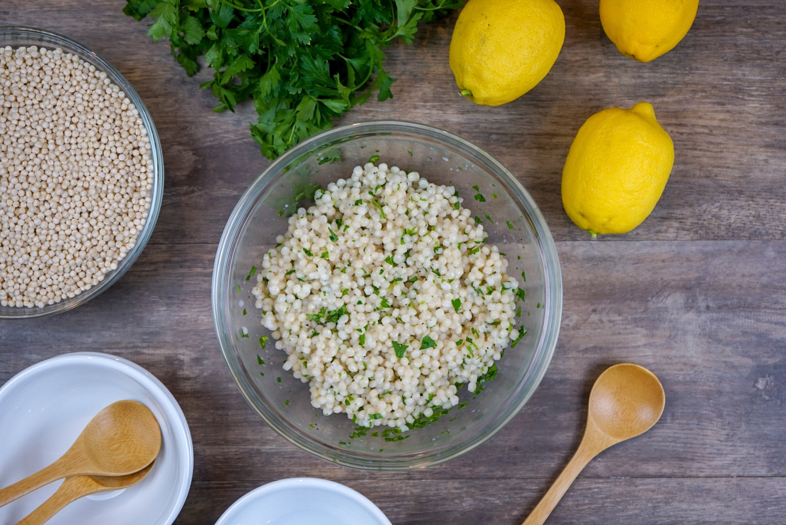 Citrus Infused Israeli Couscous